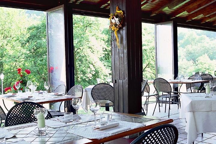 ristorante il bagnolo eco lodge veranda